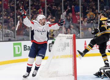 NHL、キャピタルズが首位守る