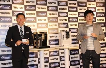 エッセイストの松浦弥太郎さんと芥川賞作家の羽田圭介さん(左から)