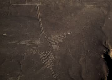 日本IBMのAIを活用した山形大学、ナスカの地上絵を新たに発見 画像