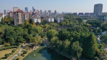 都市公園建設でより美しい環境に 江蘇省昆山市
