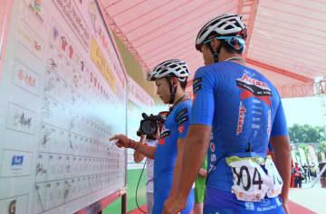 福建省福州市で自転車ロードレース開催 日本選手も参加