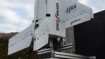 東京理科大学発ベンチャー企業が有翼ロケットを打ち上げ 画像