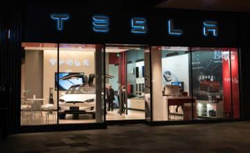 A Tesla flagship store in the southwestern municipality of Chengdu. (Image credit: Bigstock/Keitma-st)