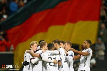 ドイツが6発圧勝でグループ首位で予選終了