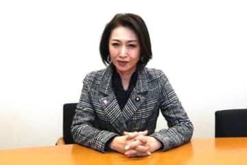 Naoko Iwanaga / BuzzFeed 今月、HPVワクチンの積極的勧奨再開を目指す勉強会を開き、議連を作る三原じゅん子氏