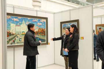 中国・ウクライナ美術作品交流展 ハルビンで開催