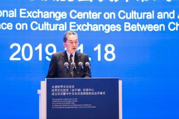 鳩山由紀夫氏、「麺」を媒体とした文化交流を提唱