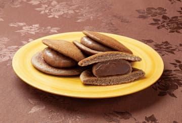 ベルギー産チョコレート100%使用!老舗が作った「チョコ大福どら」新発売
