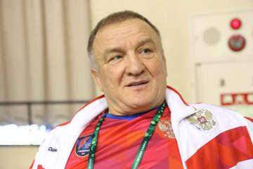 ロシア女子のコーチに就任したシメオン・ステレフ氏=撮影・矢吹建夫