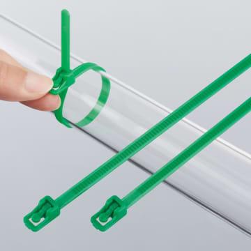 「アウトレバー・リピートタイ 耐候グレード 緑色」 販売開始について
