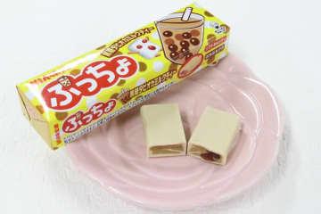 黒糖タピオカミルクティー味のぷっちょが登場
