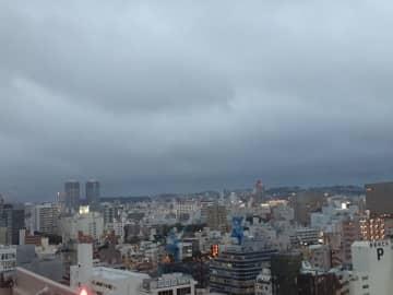 沖縄の天気予報(11月22日)前線、台風の影響で荒れた天気に