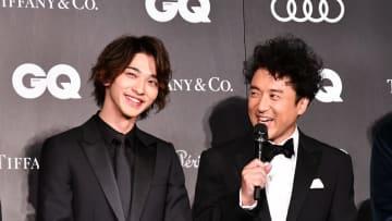 横浜流星、賀来賢人、ムロツヨシ、草刈正雄がGQ MEN OF THE YEAR 2019の授賞式に登場