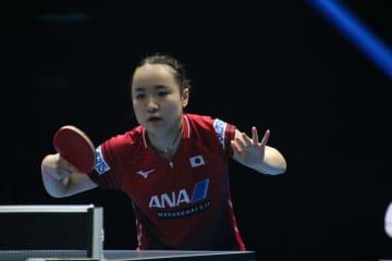 伊藤美誠、石川佳純下す 「楽しんで自分らしく戦えた」<卓球・T2ダイヤモンド>