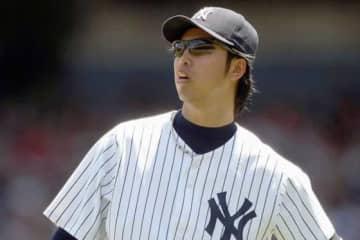 ヤンキース時代の井川慶氏【写真:Getty Images】