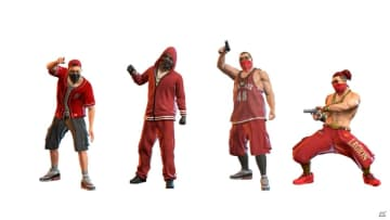 グレード:左から順にカラーギャング→マッドギャング→ギャングエース→ギャングボス