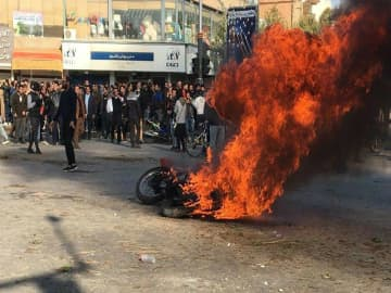 At least 7,000 reportedly arrested in Iran protests, UN says