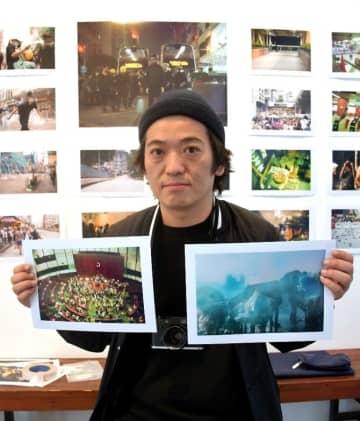 香港の今、感じて 大学突入時のショットも 24日まで博多で写真展