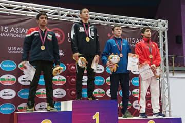 今大会、男子初の優勝を達成した細川周(京都・網野町少年教室)=チーム提供