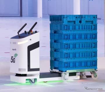 ボッシュの5G導入の未来の工場イメージ