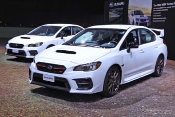 スバル WRX & WRX STI シリーズホワイト(ロサンゼルスモーターショー2019)