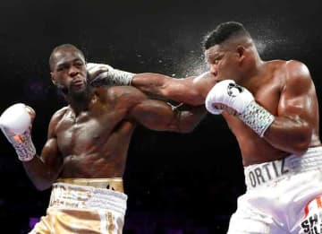 Deontay Wilder's Right Hook KO's Luis Ortiz In Seventh Round