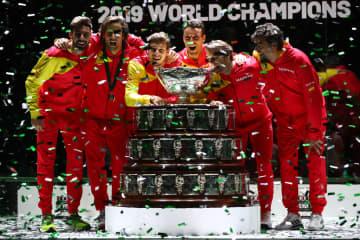 「デビスカップ」で優勝したスペイン代表