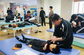 球児に野球肘などのリスクがないか調べた西胆振整形外科医会の健診