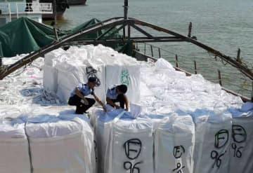 黄浦税関、密輸冷凍肉700トン強押収 広東省広州市
