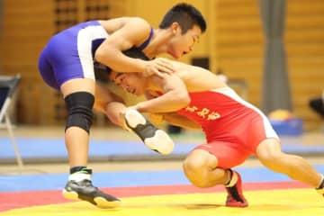 6試合を勝ち抜いてチャンピオンに返り咲いた西内悠人(高知・高知南3年/高知クラブ)