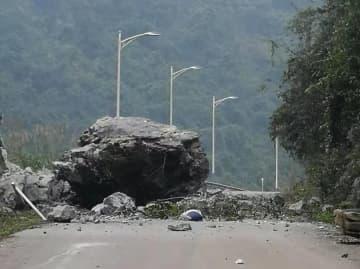 広西・靖西市でM5・2の地震 1人死亡、5人負傷