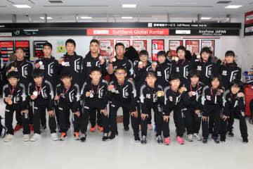 全員メダル獲得という好成績で帰国した日本チーム