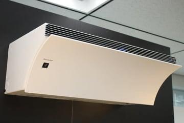 シャープが12月19日に発売する業界唯一の空気清浄機付きエアコン「Airest(エアレスト)」
