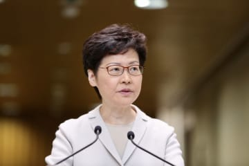 Carrie Lam. Photo: inmediahk.net.