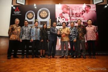 JD PowerのインドネシアにおけるCSI調査、SSI調査で1位獲得