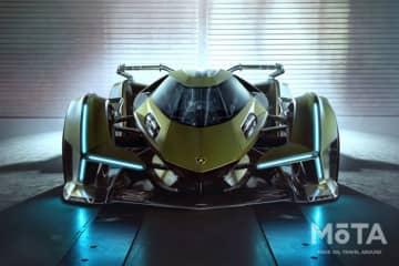 ランボルギーニ ランボV12ビジョン・グランツーリスモ 2019年11月モンテカルロにて初披露