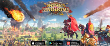 "A Screenshot of ""Rise of Kingdoms"" from Lilith Games' official website. (Image Credit: TechNode)"