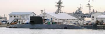 おやしお型潜水艦(参考写真)