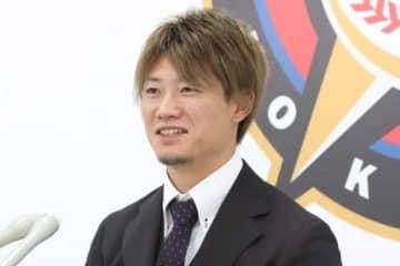 契約更改を行った日本ハム・西川遥輝【写真:石川加奈子】