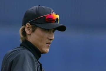 自由契約選手として公示された新庄剛志氏【写真:Getty Images】