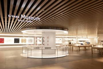 資生堂のR&D拠点「S/PARK」2階はミュージアムとして開放。最新技術の体験も