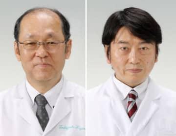 藤原俊義教授(左)と田澤大准教授