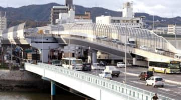 国交相が延伸事業を再開する方針を明らかにした国道2号西広島バイパスの東端