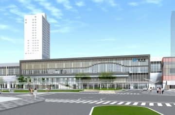北陸新幹線福井駅舎の外観イメージ