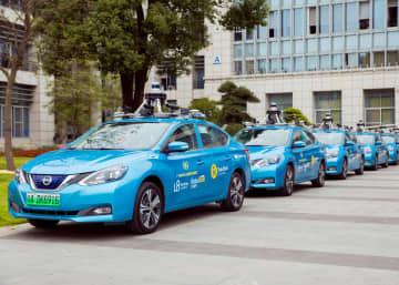 広州市で自動運転タクシーの試験運用始まる