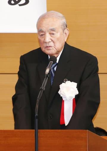 中曽根 元首相 超党派議連