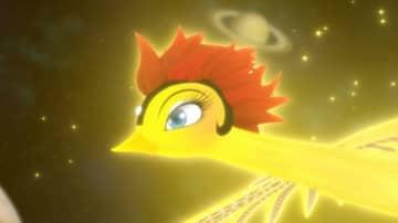 道後温泉に伝わる神話時代から現代までの伝説や物語をテーマに、 名作「火の鳥」の新たな物語、 「火の鳥 道後温泉編」が誕生。  (C)TEZUKA PRODUCTIONS