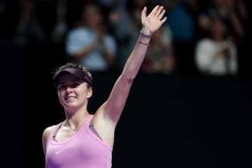 「WTAファイナルズ・深セン」でのスビトリーナ