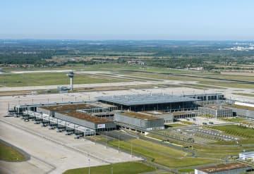 ベルリン・ブランデンブルク国際空港=ベルリン近郊(Flughafen・Berlin・Brandenburg・GmbH提供、共同)