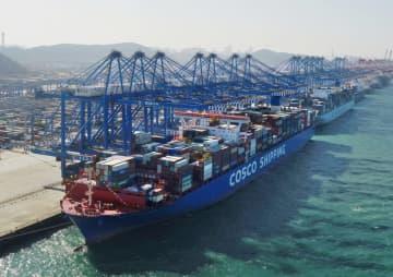 青島港「全自動化ふ頭」第2期、操業開始